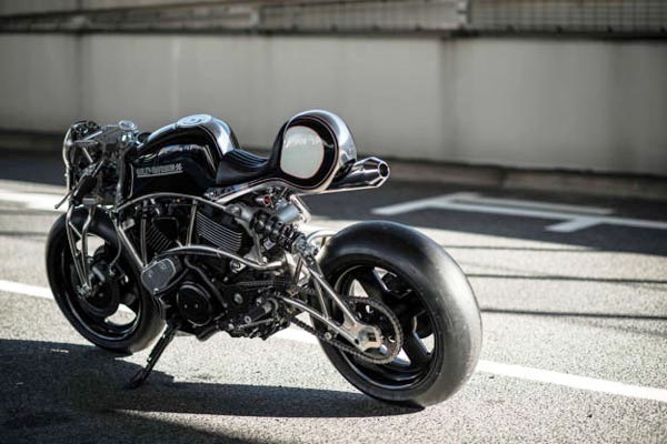 Modifikasi Harley-Davidson Street 75