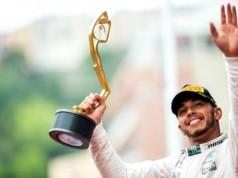 Hamilton Juara GP Monaco