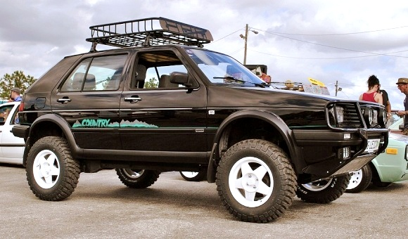 VW Golf Country Syncro 1990
