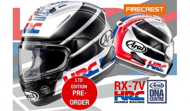 Arai RX-7V HRC Limited Edition