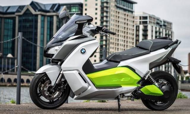 New BMW C Evolution E-Scooter