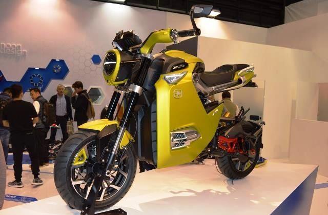 mini city racer sportbike listrik dari otto bike otobandung. Black Bedroom Furniture Sets. Home Design Ideas